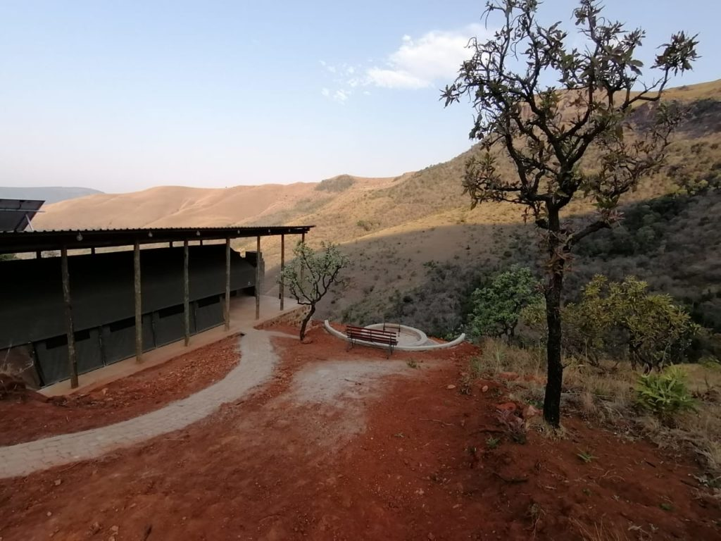 wolwe krans Lodge - luxury tents