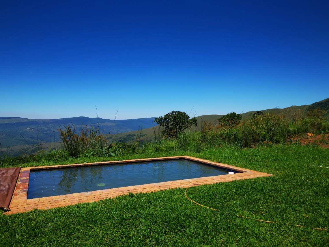 wolwekrans eco lodge swimming pool